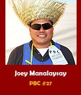 Joey Manalaysay