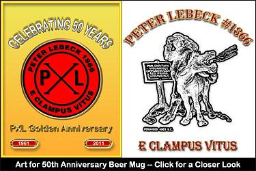 50th Anniversary Beer Mug.