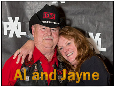 Al and Jayne.