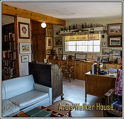 Ardis Walker's Home Office.