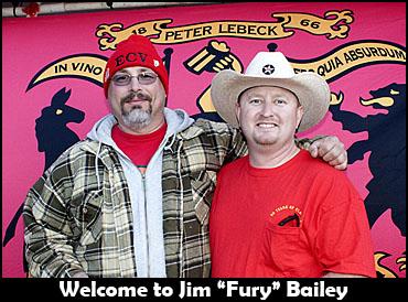Jim Bailey with Hole.