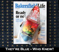 Blue Donkey Balls.