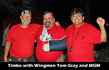 PXL's Tom Gray, NGH Timbo Gillespie and Medium Green Mike Ramirez.