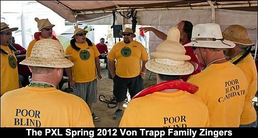 The PXL Spring 2012 Von Trapp family Zingers.