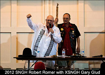 2012 SNGH Robert 'Roadkill' Romer with XNSGH Gary 'Happiest Guy in the Room' Glud.