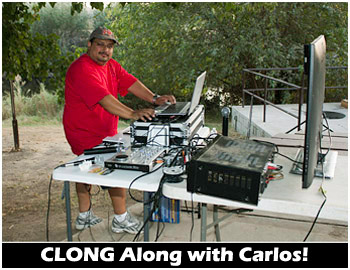Carlos Lemus at the Clong Controls