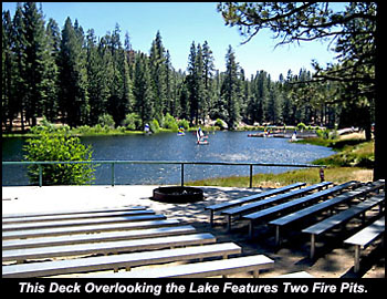 Lake Ida Fire Circle.