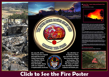 Hawker Fire Poster.
