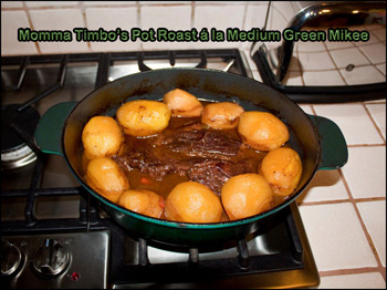 Timbo's Pot Roast a la MGM