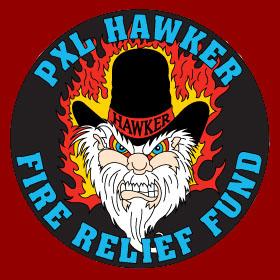 Hawker on Fire.