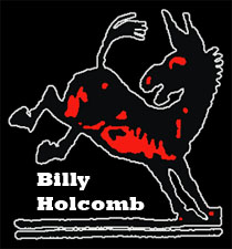 Billy Holcomb logo.