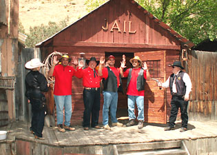 Reshirts Visit Jail at Silver City.
