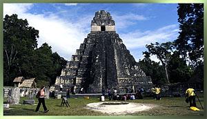 PXL Climbs Mayan Pyramids!