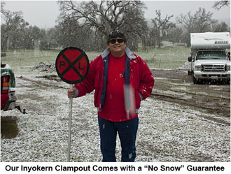 Mikee's 'No Snow' Guarantee.