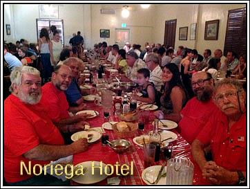 Noriega Hotel Dining Room.