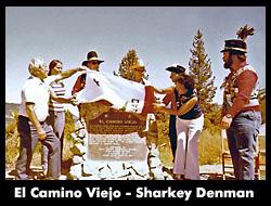 El Camino Viejo, 1978 -- Sharkey Denman, NGH. Chris is on the right.