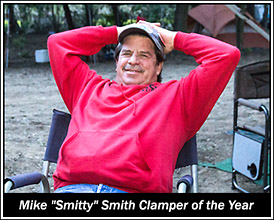 Mike Smith, 2015 Clamper of the Year