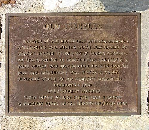 1980 Erection -- Old Isabella.