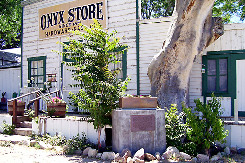 Onyx Store and Monument.