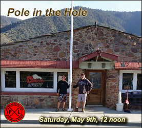 Hole in the Hole --Flag Raising event!