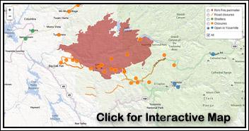 LA Times Rim Fire Map Link