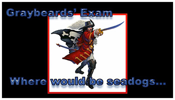 Gray Beards' Exam!