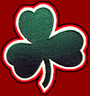 Happy St. Patrick's Day luck shamrock!