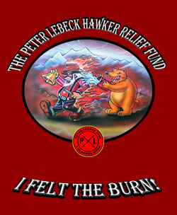 Special Hawker Fire Shirt.