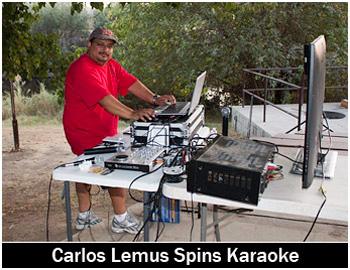 Carlos Lemus Spins Karaoke!