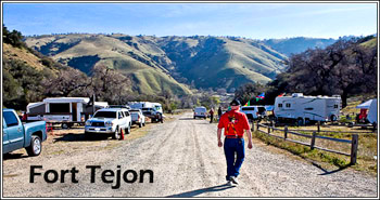 Fort Tejon in Spring.