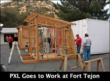 PXL Goes to Work at Fort Tejon!