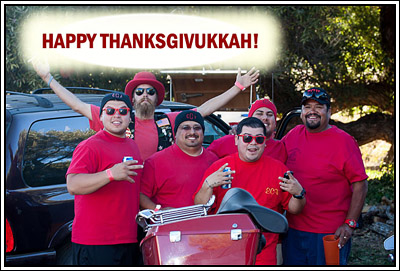 Wishing you a Happy Thanksgivukkuh!