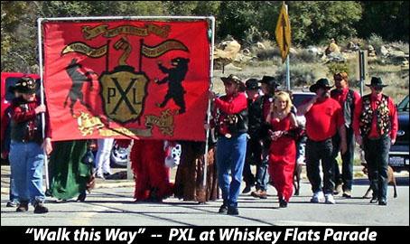 PXL at the Whiskey Flats Parade