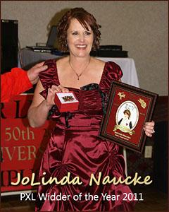 JoLinda Naucke, 2011 PXL Widder of the Year