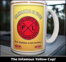 The Infamous Yellow Cup.