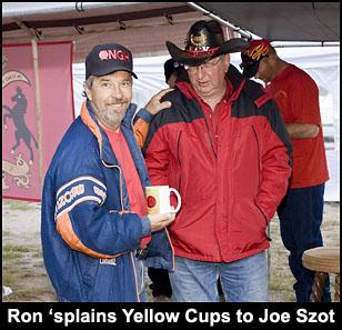 Ron, Joe, Yellow Cup Talk.