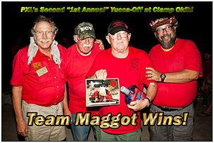 Team Maggot Wins the Yucca-Off!
