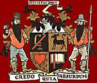 The E Clampus Vitus coat of arms