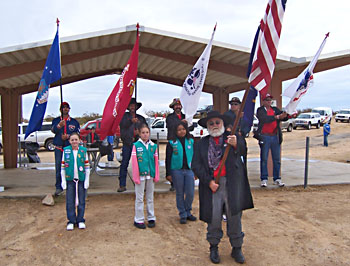 With Help, NGH Paul Weaver and the Humbugs Present the Colors.