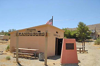 Randsburg Monument -- Today.