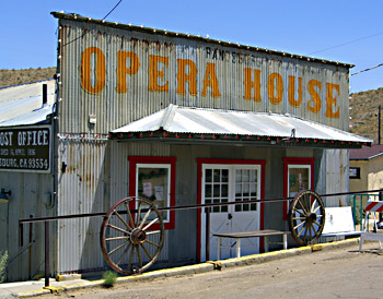 The Randsburg Opera House in 2005.