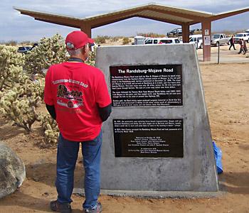 Fall '06 Randsburg-Mojave Road Monument.