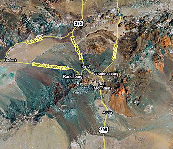 Randsburg and the mining towns that grew uparound it.