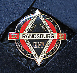 The 1989 Randsburg Four-Way Pin.