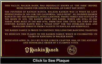 Click to read Rankin Plaque!