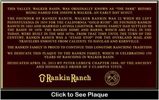Click to read Rankin Plaque!
